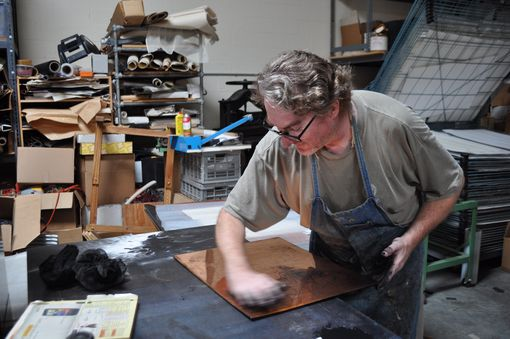Custom Made Printmaking, The Printing Of Illustrations From Copper Plates Or Cut Wood.