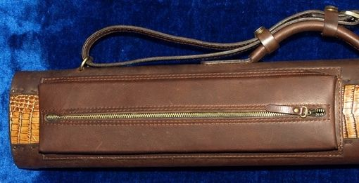 Custom Made Tl34otag Leather Poolstick Case