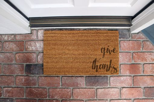 Custom Made Custom Door Mats --Dm-Coir-Givethanks
