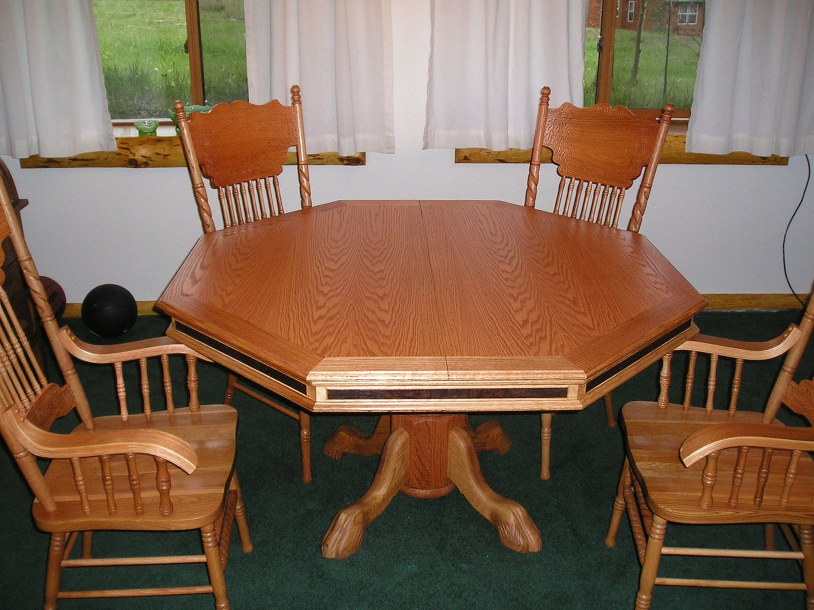 Hand Crafted Custom Poker Table By Colorado Woodworkers