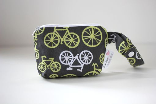 Custom Made Mini Gusseted Messy Bags (Snack Bags) - Bicycles Citron