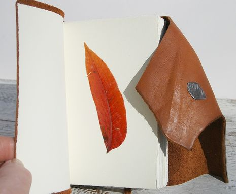 Custom Made Leather Bound Handmade Journal Texas Longhorn Travel Diary Art Notebook
