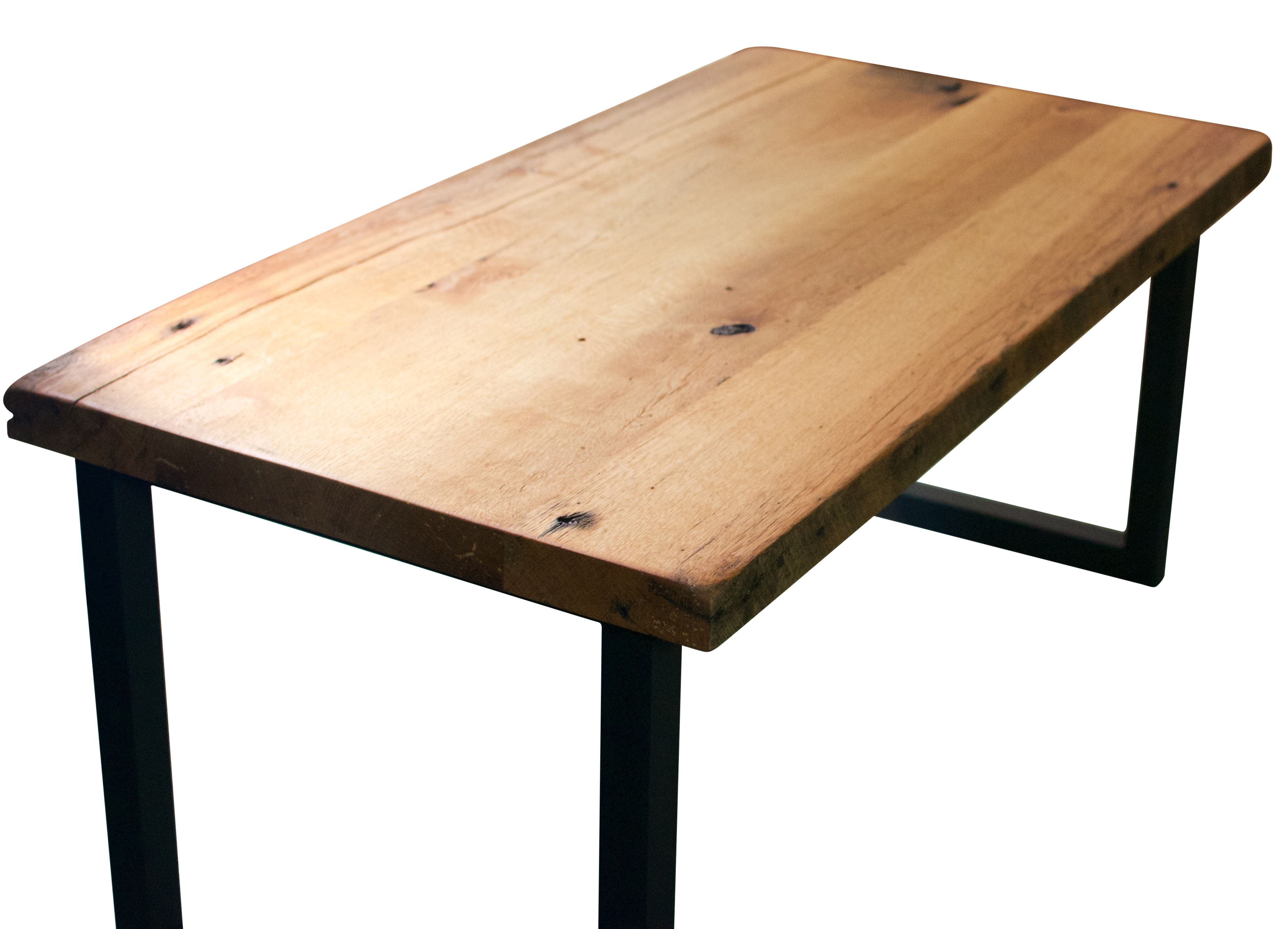 Buy Hand Made Reclaimed Wood Coffee Table With Steel Legs Made To Order From Blowing Rock