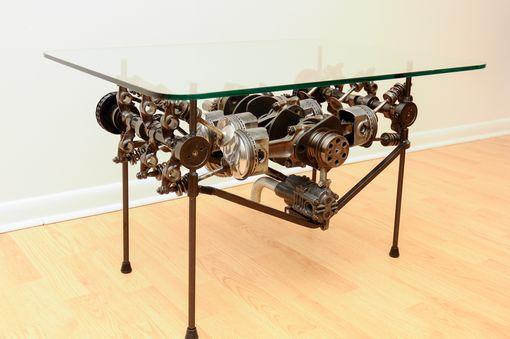 "Custom Made 1974 Porsche Engine Table ""The Skeletor"""