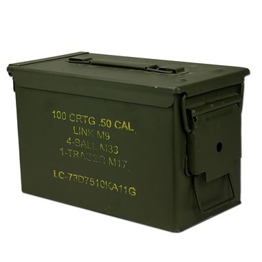 Custom Made Ammo Can - .50 Cal Humidor