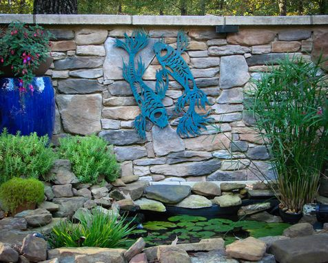 Custom Made Patio/Pond Wall Art