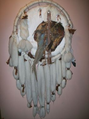 Custom Made Custom Leather Dream Catcher