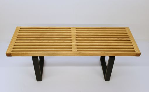 Custom Made Gallery Bench