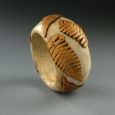 Custom Made Golden Fern Bracelet
