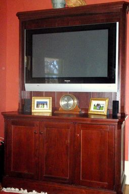 Custom Made Flat Screen Hutch