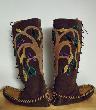 Custom Made Weeping Fig Tree Moccasins
