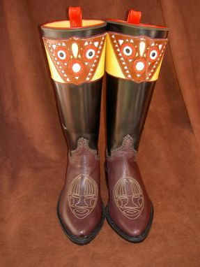 Custom Made African Boots