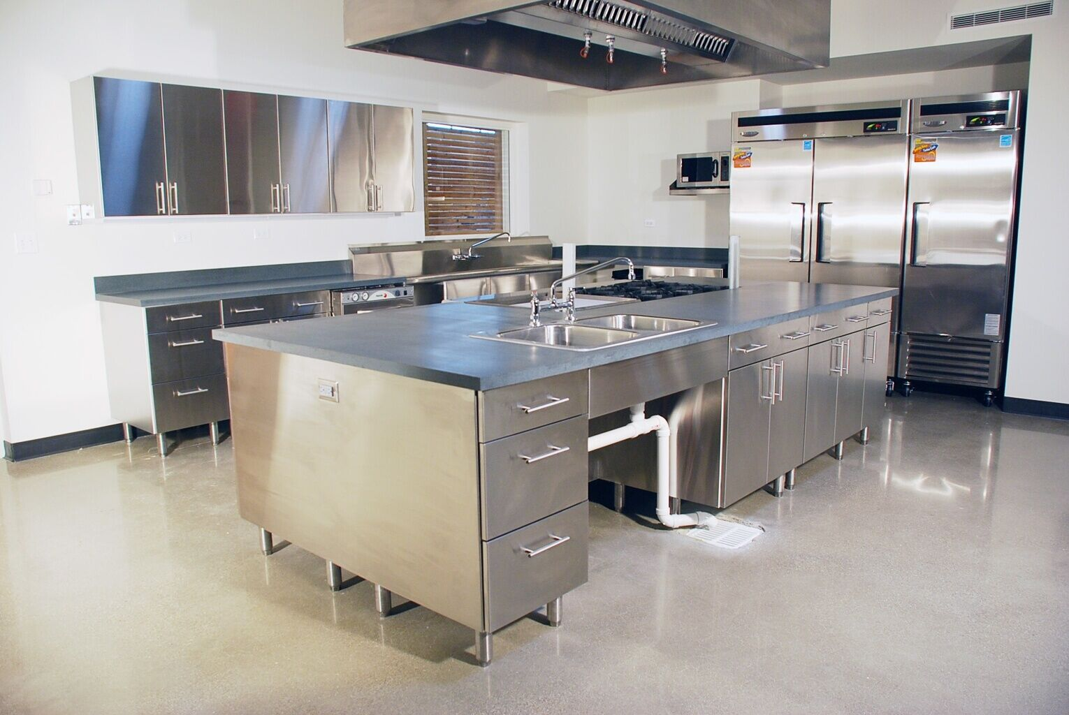 Stainless Steel Kitchen Hand Made Stainless Steel Kitchen By Mica Shop Custommadecom