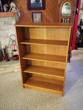 Custom Made White Oak Bookshelf