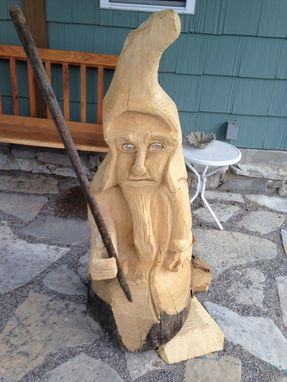 "Custom Made Approximately 3'6"" Gnome With Motion Sensor."