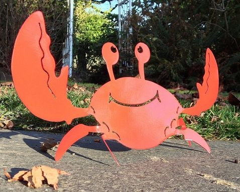 Custom Made Crab For Your Yard, Patio Or Inside