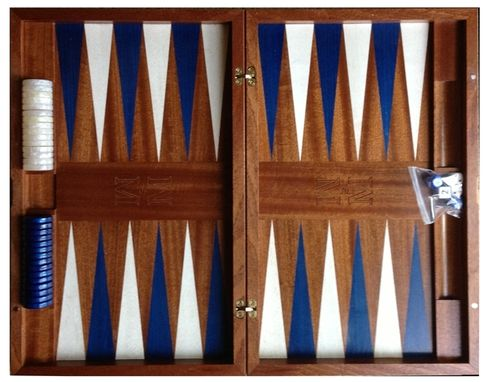 Custom Made Backgammon / Chess