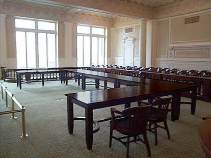 Custom Made Supreme Court Tables