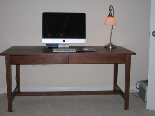 Custom Made Cherry Office Desk