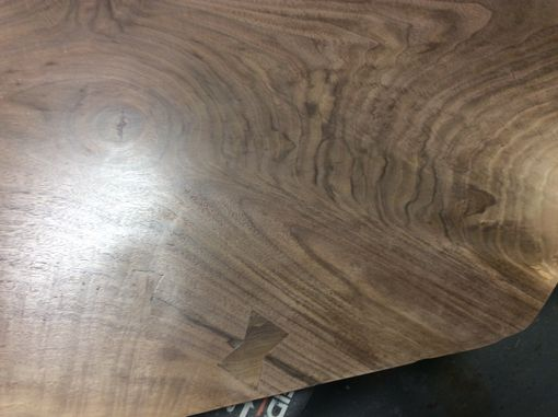 Custom Made Live Edge Farm Style Table