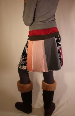 Custom Made Thorny Rose Eco Mini Skirt - Size Medium/Large (8/10)