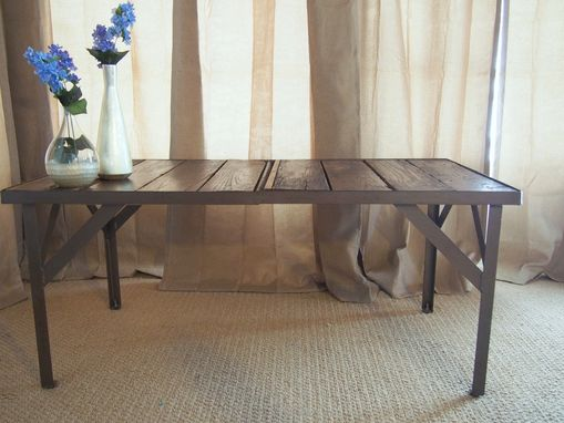 Custom Made Rustic Chic Coffee Table