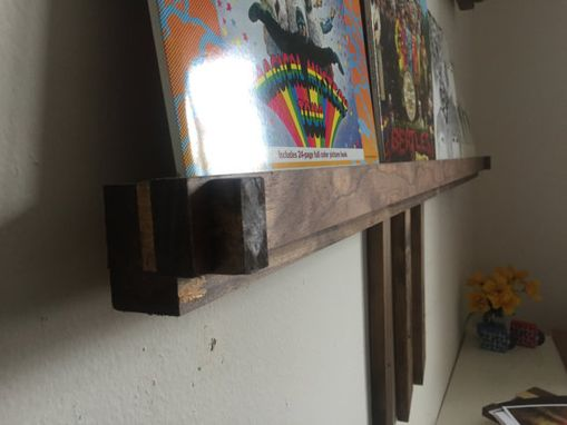 Custom Made Record Display Shelves