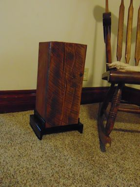 Custom Made Reclaimed Barn Beam Side Table