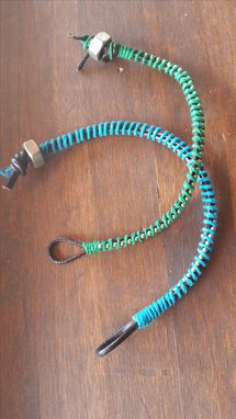 Custom Made Leather And Hemp Bracelets