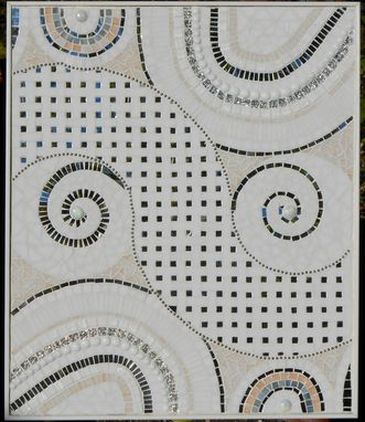 Custom Made Spiral Mosaic