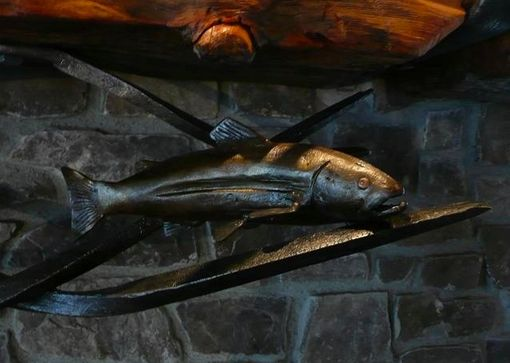 Custom Made Trout Sculpture