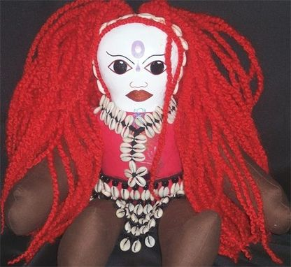 Custom Made Ooak Wild Woman Spirit Doll©