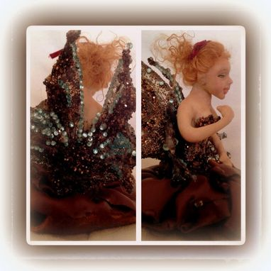 Custom Made Ooak Fairy Lady Chocolatta Brown - One Of A Kind Dma Ogld