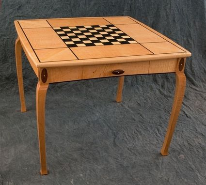 Custom Made Wizard's Chess Table