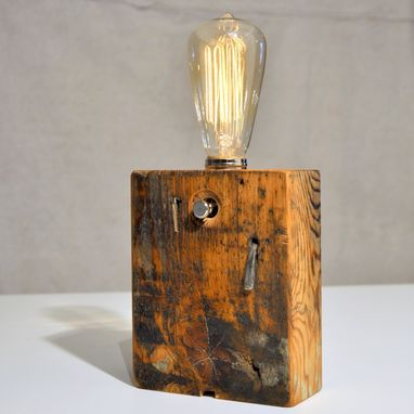 Custom Made Wood Lamps