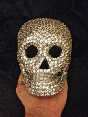 Custom Made Swarovski Crystal Sugar Skull