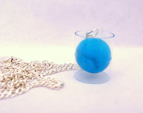 Custom Made Archimedes Sphere In Cylinder Necklace