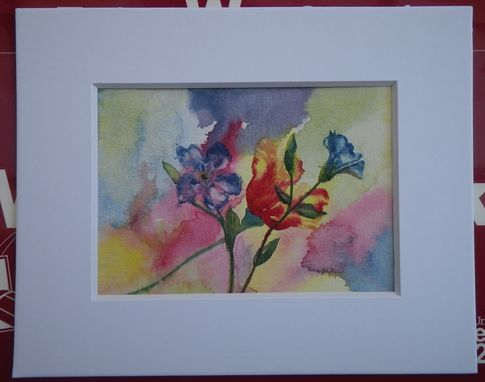 Custom Made Stationary Paper Goods, Cards, Original Paintings, Can Be Matted And Frames As Wall Art