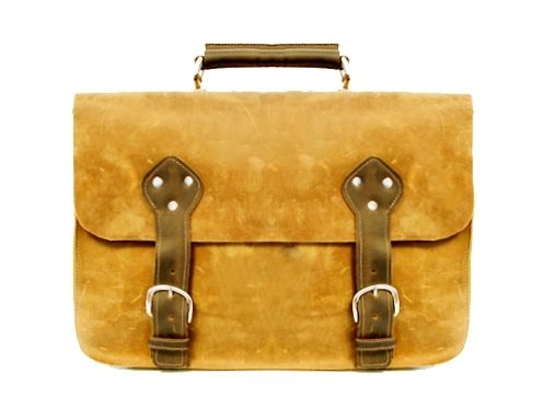 Custom Made Brighton Briefcase Satchel