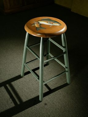 Custom Made Round Stool