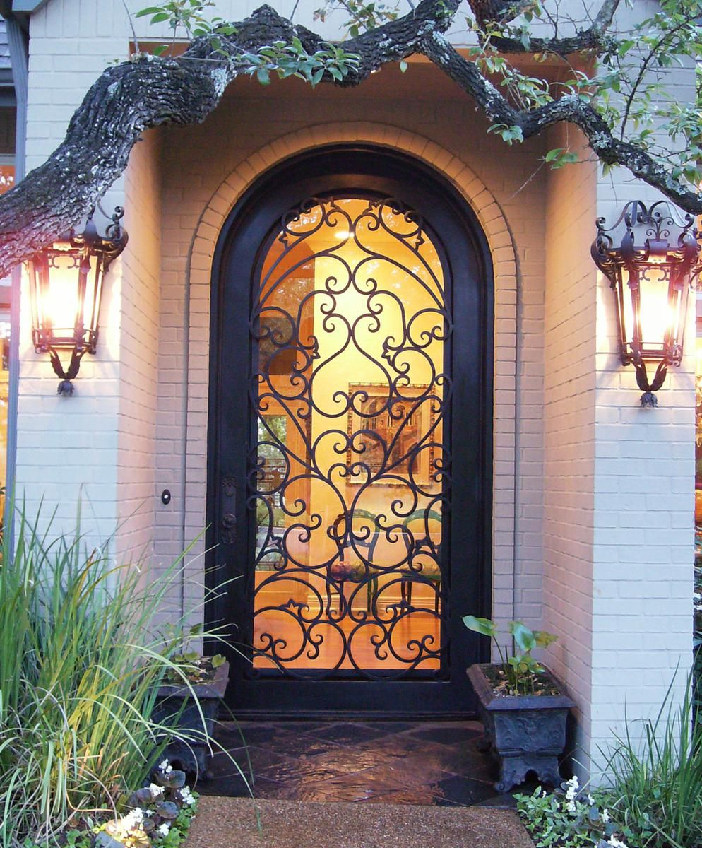 Custom Made Wrought Iron Door Charlotte Nc By The Looking