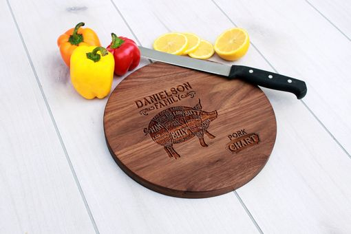 Custom Made Personalized Cutting Board, Cutting Board, Wedding Gift – Cbr-Wal-Danielsonfamilyporkchart