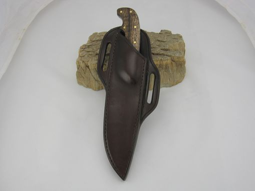 Custom Made Right Hand Cross Draw Custom Knife Sheath