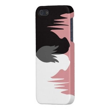 Custom Made The Yin & Yang Horses Iphone Case