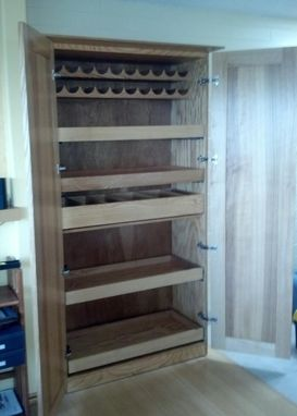 Custom Made Pantry Cabinet