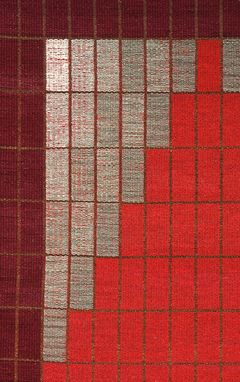 Custom Made Rug: Partita (Hand-Woven With Hand-Dyed Wool)