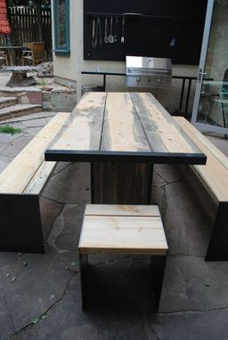 Hand Made Colorado Beetle Kill Dining Table By