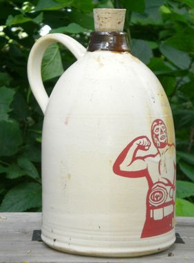 Custom Made Luchidor Moonshine Jug