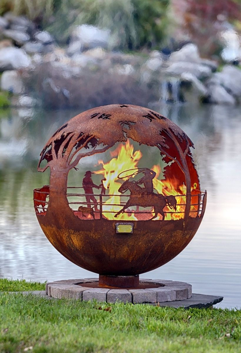 Custom Made Round Up 37 - Buy A Hand Made Round Up 37, Made To Order From The Fire Pit Gallery