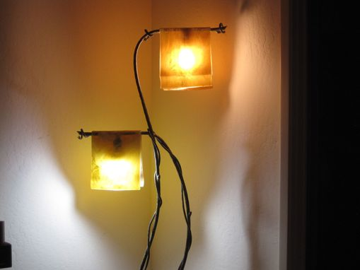 Custom Made Slumped Glass Lampshades